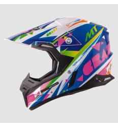 Casco cross MT Helmets Synchrony Crazy