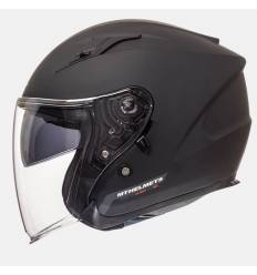 Casco jet MT Helmets Avenue Solid Negro Mate