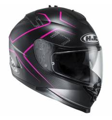 Casco Integral HJC IS17 LANK MC8SF ROSA
