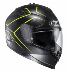Casco Integral HJC IS17 LANK MC4HSF AMARILLO