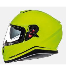 Casco integral MT Helmets Thunder 3 Solid Amarillo Fluor